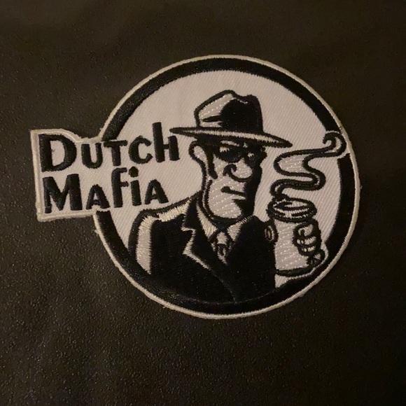 Dutch bros patch-iron on